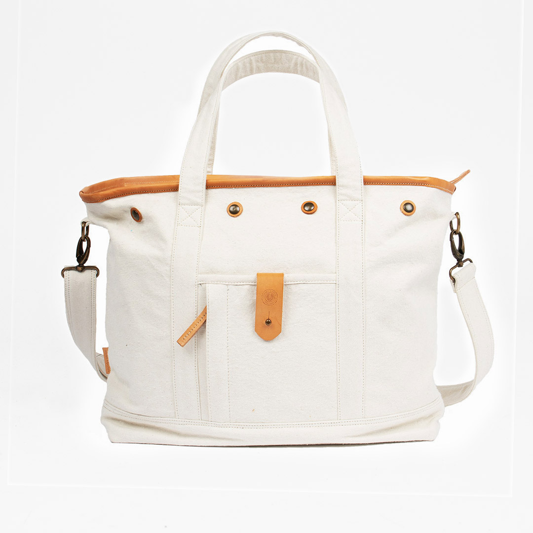 Cheyne Tote Bag Offwhite
