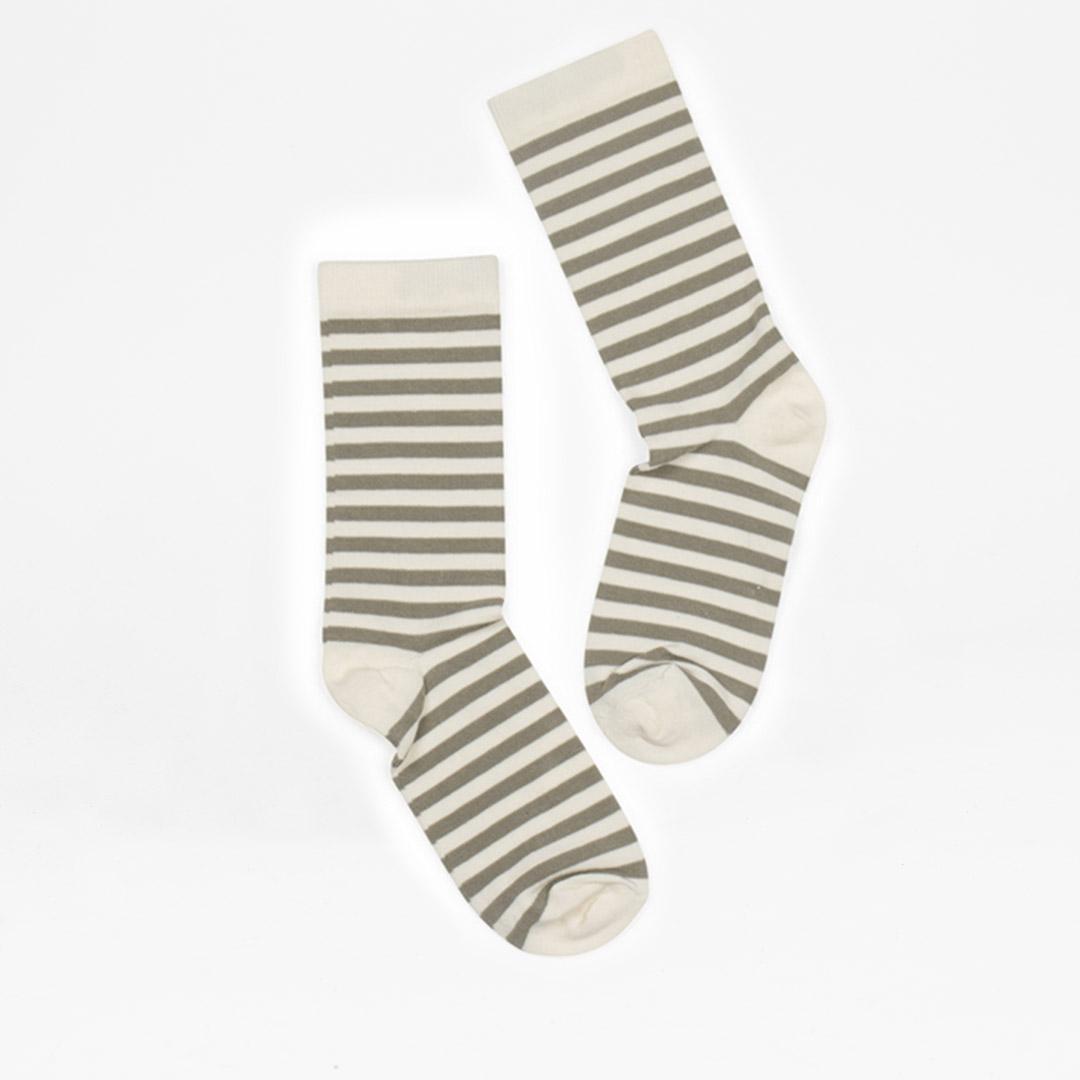 Stripe offwhite-m-beige